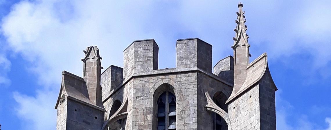 Le clocher restauré :